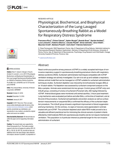 Physiological, Biochemical, and Biophysical Characterization of the